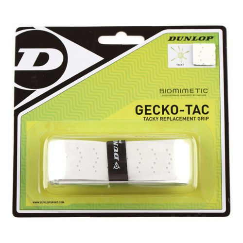 Dunlop Gecko Tac Replacement Grip 1 Pack - White