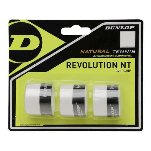 Dunlop Revolution NT 3 Pack - White