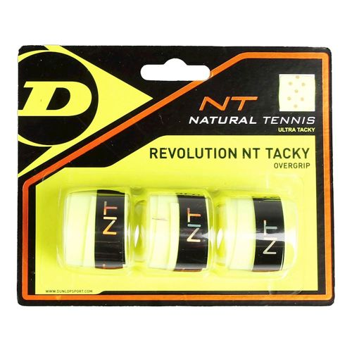 Dunlop Revolution NT Tacky 3 Pack - Yellow
