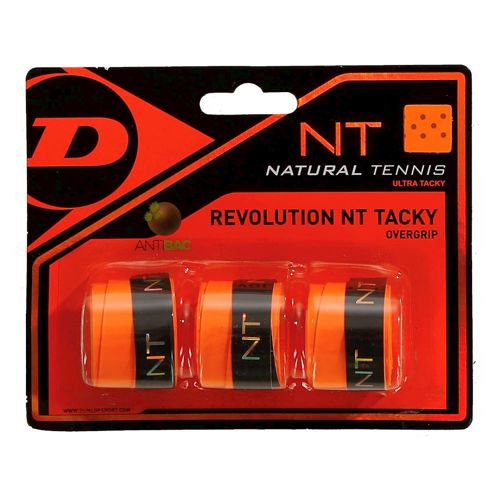 Dunlop Revolution NT Tacky 3 Pack - Orange