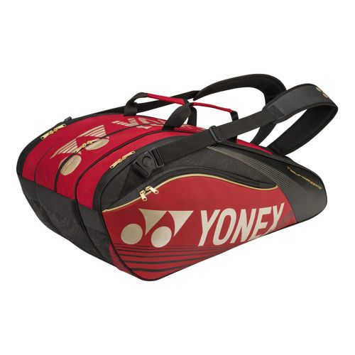 Yonex Pro Racket Thermobag Racket Bag 9 Pack - Red