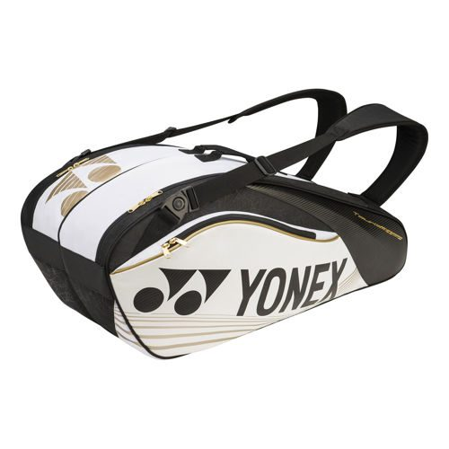 Yonex Pro Racket Thermobag Racket Bag 6 Pack - White