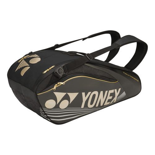 Yonex Pro Racket Thermobag Racket Bag 6 Pack - Black
