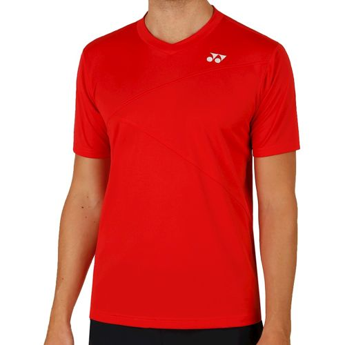Yonex Crew Neck Shirt T-Shirt Men - Red