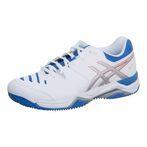 Asics Gel-Challenger 10 Clay All Court Shoe Women - White, Silver