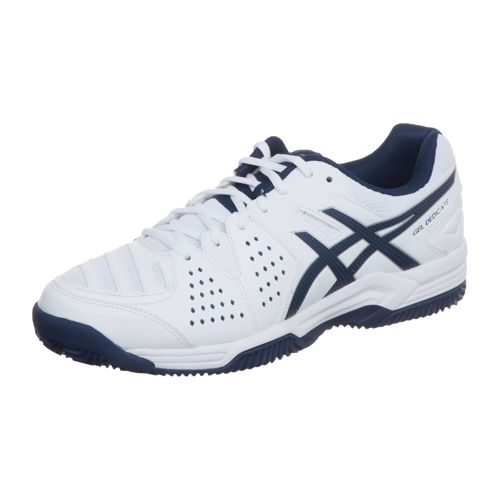 Asics Gel Dedicate 4 Clay Clay Court Shoe Men - White, Dark Blue