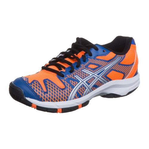 Asics Gel-Solution Speed 2 GS All Court Shoe Kids - Blue, Neon Orange