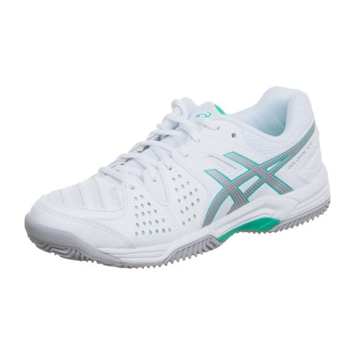 Asics Gel-Dedicate 4 Clay Clay Court Shoe Women - White, Silver