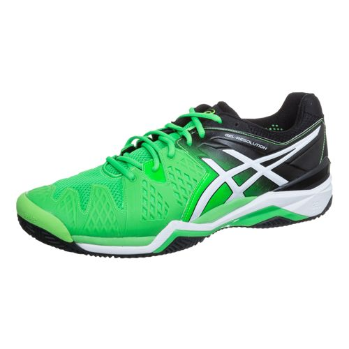 Asics Gel-Resolution 6 Clay Clay Court Shoe Men - Green, White