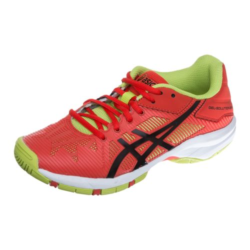 Asics Gel-Solution Speed 3 GS All Court Shoe Kids - Orange, Black