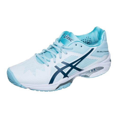 Asics Samantha Stosur Gel-Solution Speed 3 All Court Shoe Women - White, Light Blue