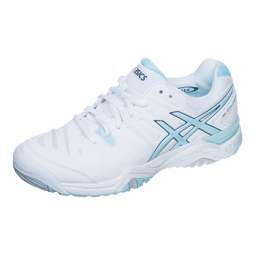 Asics Gel-Challenger 10 All Court Shoe Women - White, Turquoise