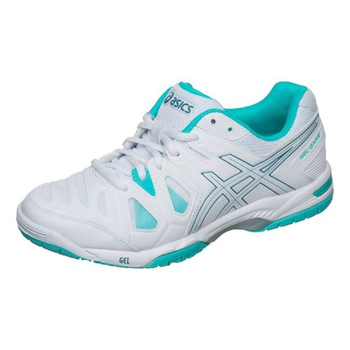 Asics Gel-Game 5 All Court Shoe Women - White, Light Blue