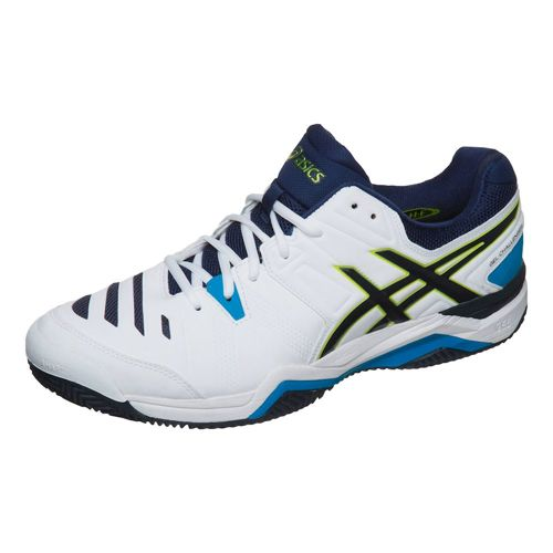 Asics Gel-Challenger 10 Clay Clay Court Shoe Men - White, Lime