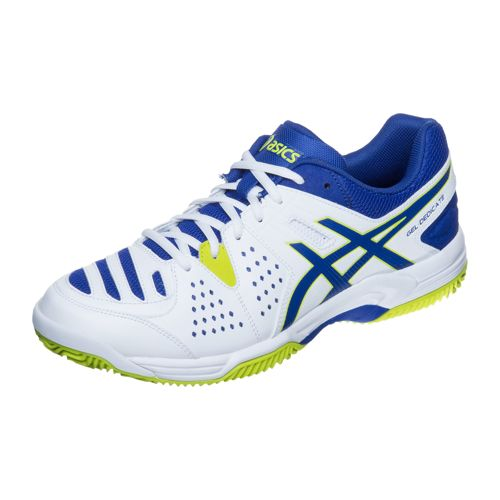 Asics Gel-Dedicate 4 Clay Clay Court Shoe Men - White, Blue