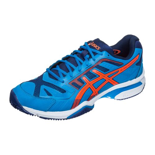 Asics Gel Professional 2 SG All Court Shoe Men - Blue, Neon Orange