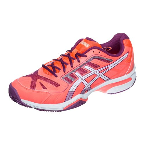 Asics Gel Professional 2 SG All Court Shoe Women - Neon Orange, White