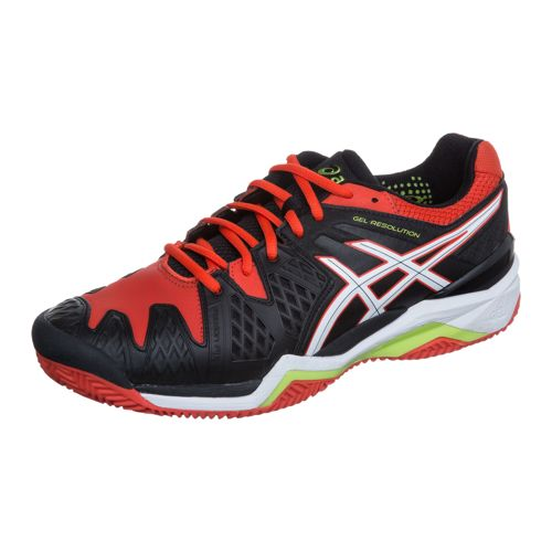 Asics Gel-Resolution 6 Clay Clay Court Shoe Men - Black, White