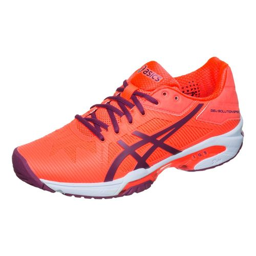 Asics Samantha Stosur Gel-Solution Speed 3 All Court Shoe Women - Orange, Dark Blue