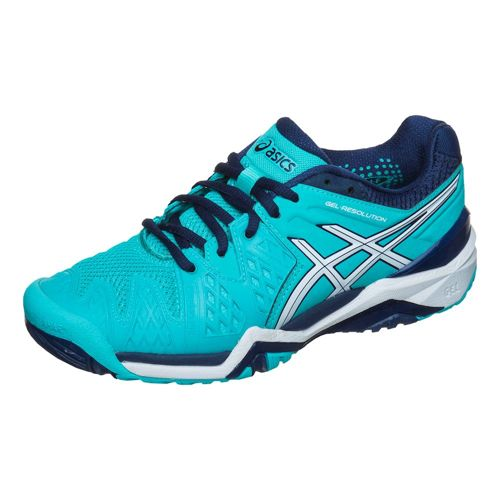 Asics Gel-Resolution 6 All Court Shoe Women - Turquoise, Blue