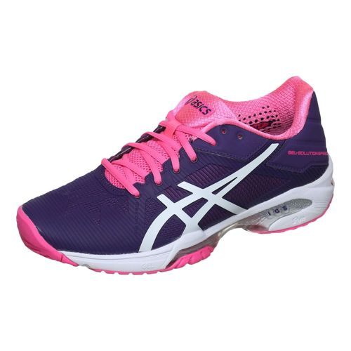 Asics Gel-Solution Speed 3 All Court Shoe Women - Violet, White