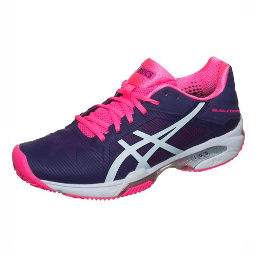 Asics Gel-Solution Speed 3 Clay Clay Court Shoe Women - Violet, White