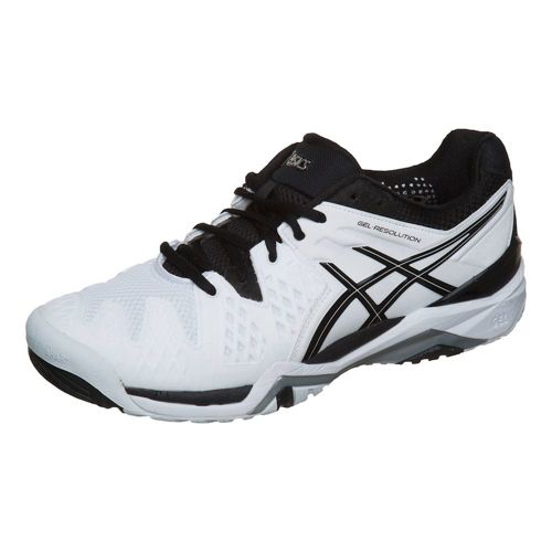 Asics Gel-Resolution 6 All Court Shoe Men - White, Black