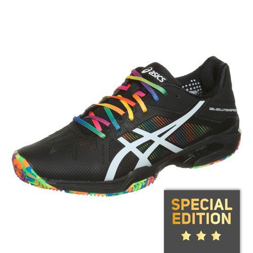 Asics Gel-Solution Speed 3 Clay Court Shoe Exclusive Men - Black, White