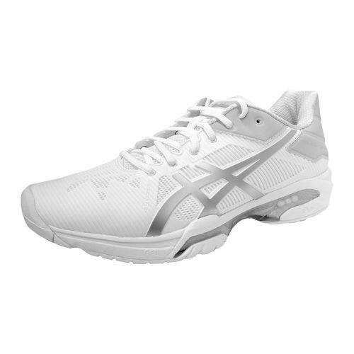 Asics Gel-Solution Speed 3 All Court Shoe Women - White, Silver