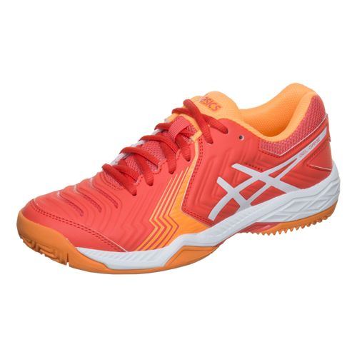Asics Gel-Game 6 Clay Court Shoe Women - Coral, White