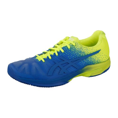 Asics Solution Speed FF LE Clay Court Shoe Men - Blue, Yellow