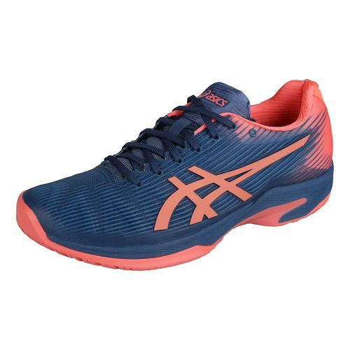 Asics Solution Speed FF All Court Shoe Women - Dark Blue, Coral