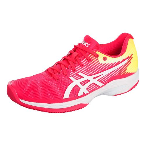 Asics Solution Speed FF All Court Shoe Women - Pink, White