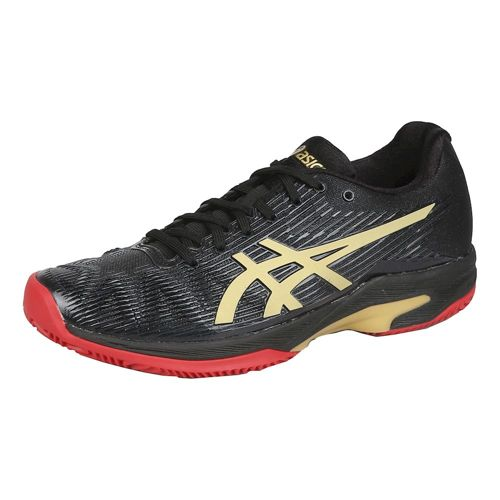 Asics Gel-Solution Speed FF L.E Clay Court Shoe Women - Black, Red