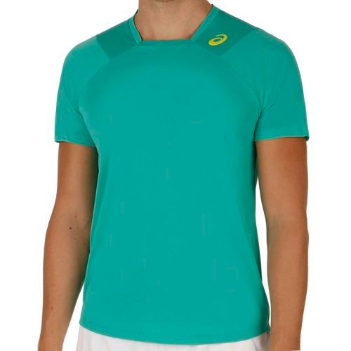 Asics Gael Monfils Athlete SS T-Shirt Men - Green