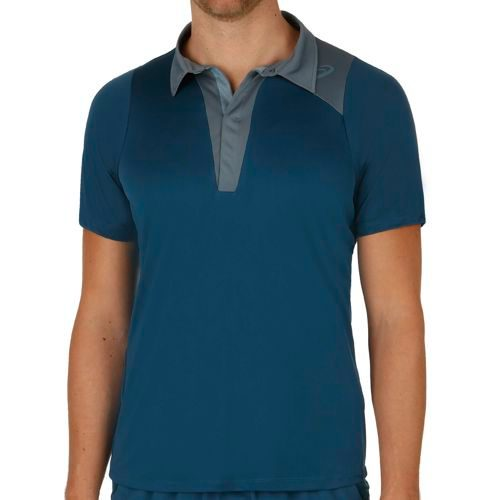 Asics Athlete Shortsleeve Polo Men - Blue