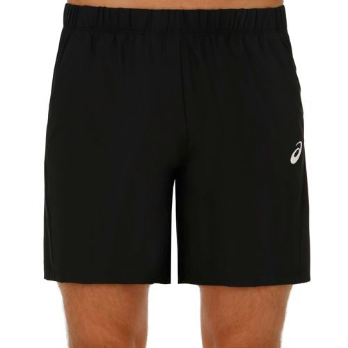 "Asics Club Woven 7"" Shorts Men - Black"