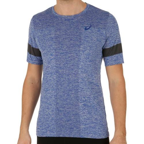 Asics SS Top Seamless T-Shirt Men - Blue