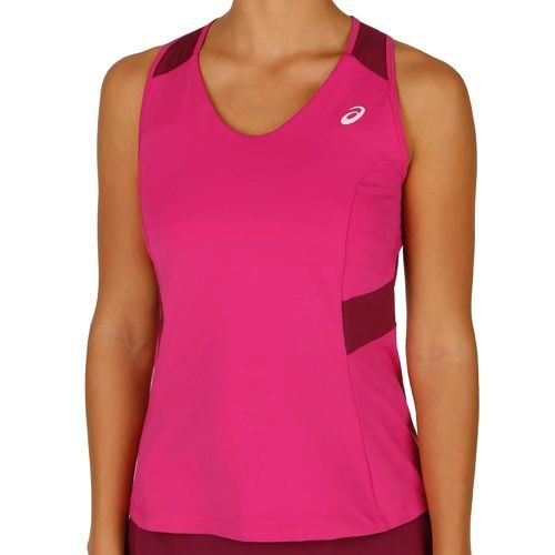 Asics Athlete Top Women - Dark Red