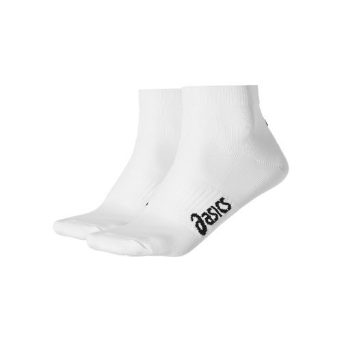 Asics Tech Ankle Tennis Socks 2 Pack - White