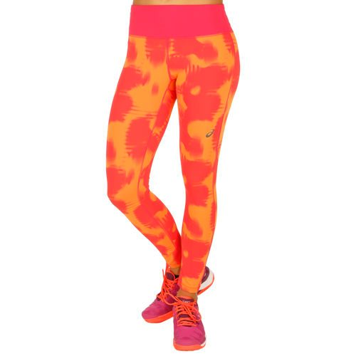 Asics FuzeX 7/8 Trousers Women - Orange