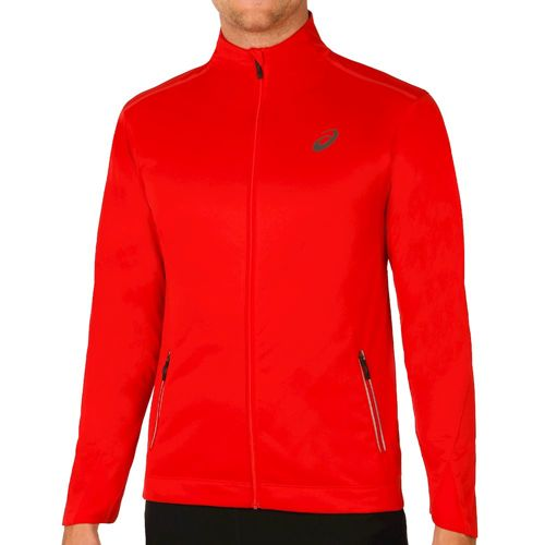Asics Windblock Training Jacket Men - Dark Red