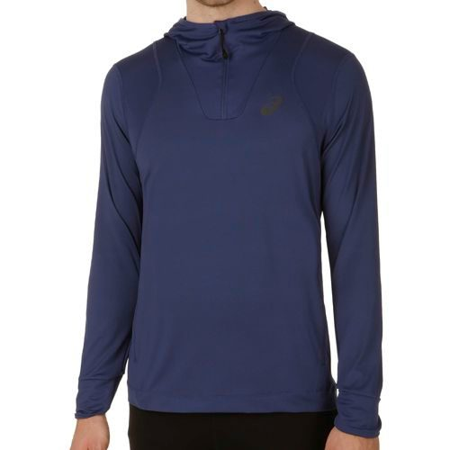 Asics FuzeX Hoody Men - Dark Blue