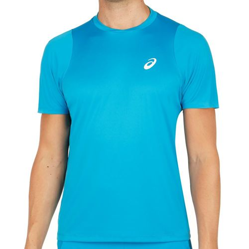 Asics Club Shortsleeve T-Shirt Men - Blue