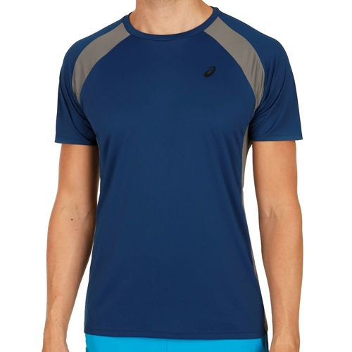 Asics Training Shortsleeve Tech T-Shirt Men - Dark Blue