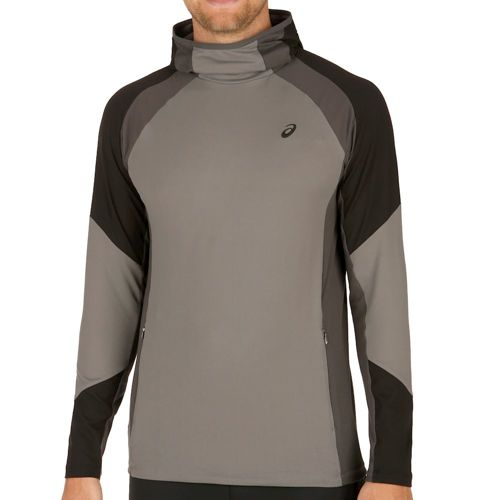Asics Training Tech Long Sleeve Men - Grey, Black