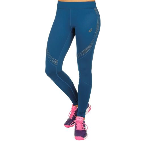 Asics Lite-Show Winter Tight Training Pants Women - Dark Blue
