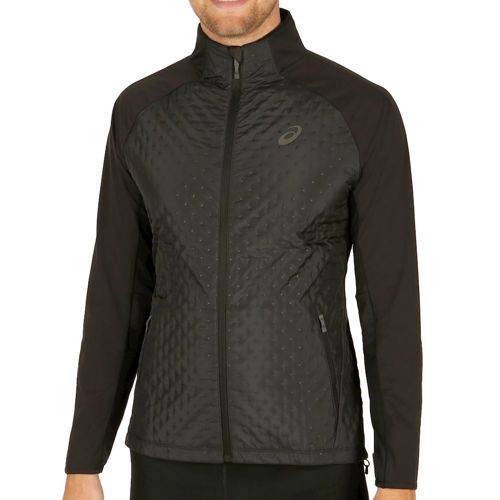 Asics Hybrid Running Jacket Men - Black