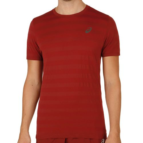 Asics FuzeX Seamless T-Shirt Men - Dark Red
