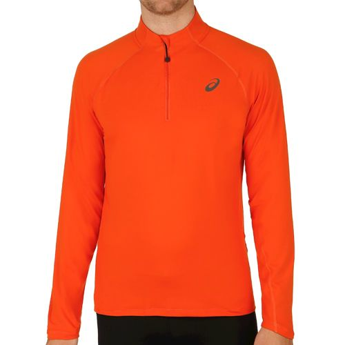 Asics Half Zip Jersey Long Sleeve Men - Orange